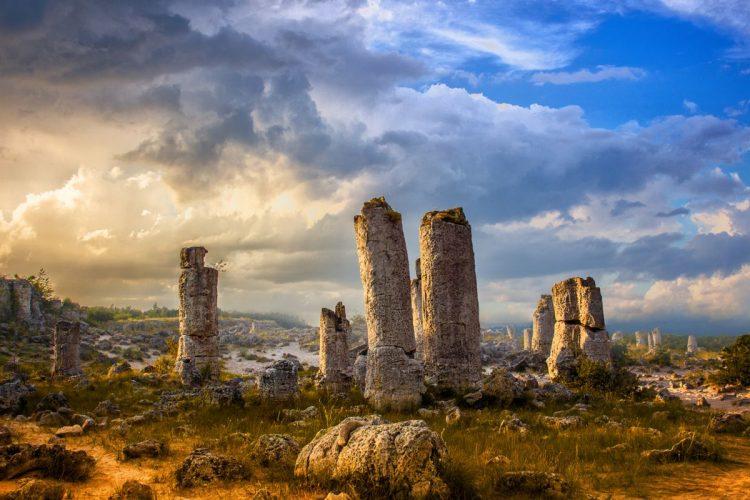 Padurea de piatra de la Varna